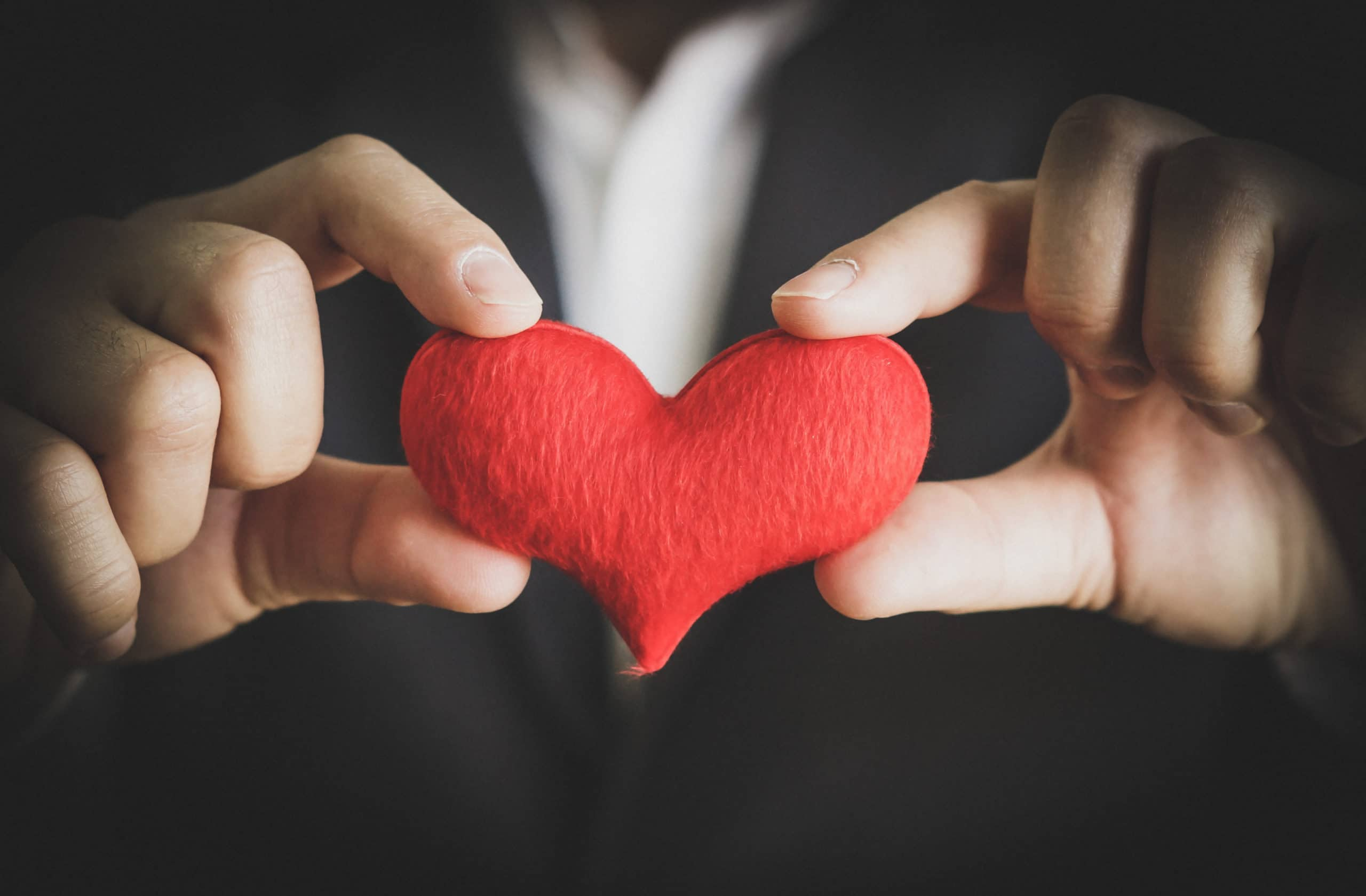 Corporate Giving Hands with Heart