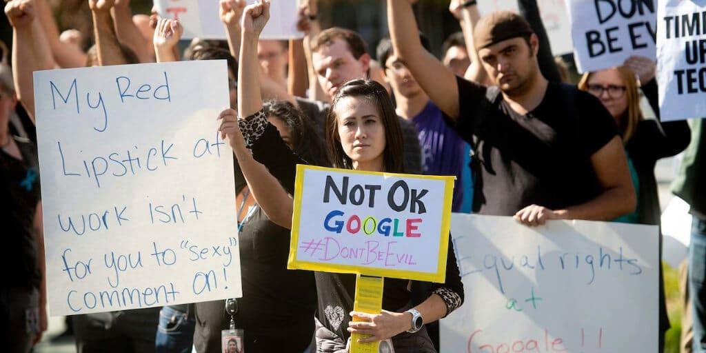 Google Not Woke Enough