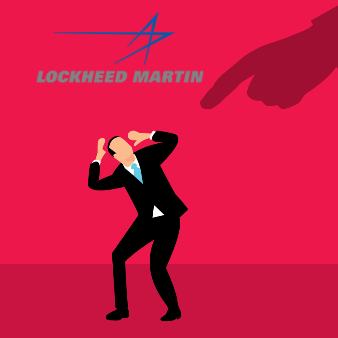 Lockheed Martin White Man Shaming